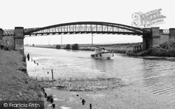 Broughton, The River Humber c.1965
