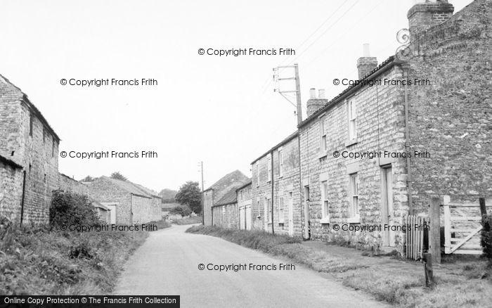 Photo of Broughton, The Village c.1955