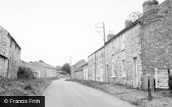 Broughton, The Village c.1955