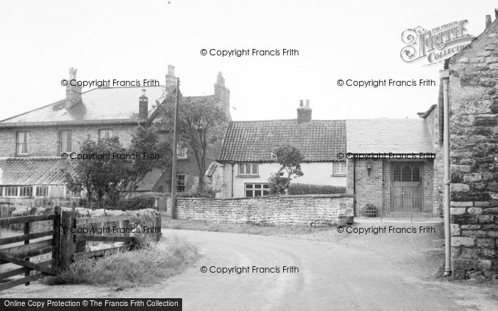 Photo of Broughton, The Village c.1955