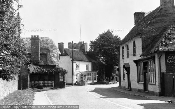 Photo of Broughton, the Village c1955