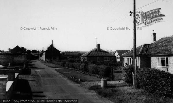 Photo of Broughton, The Village c.1965