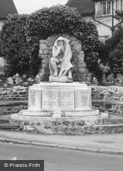 Broughton, War Memorial c.1965