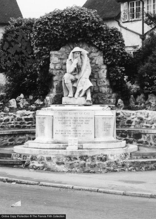 Broughton, War Memorial c1965