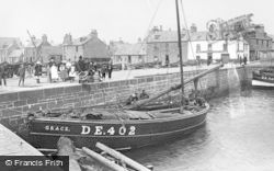 Broughty Ferry, The Harbour 1893