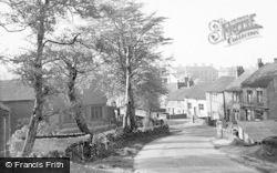 Sandy Lane c.1955, Brown Edge