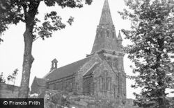 St Anne's Church c.1955, Brown Edge