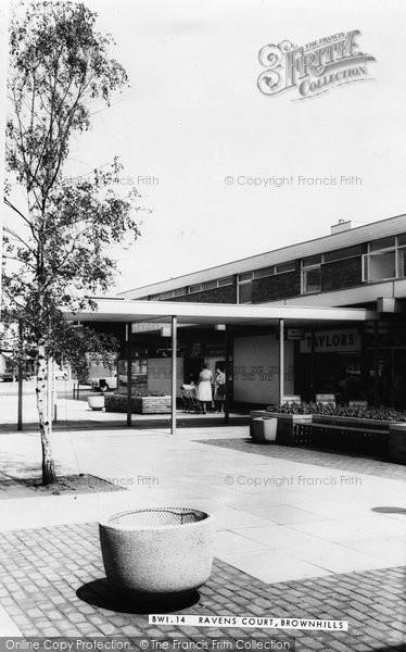 Brownhills, Ravens Court c.1965