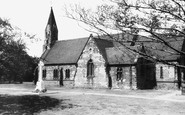 Brownhills, St James' Church c.1965