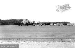 Brownsea Island, From Sandbanks 1898