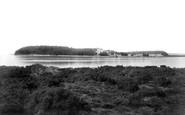 Brownsea Island, From Sandbanks 1900