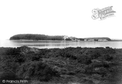 Brownsea Island, From Sandbanks 1900