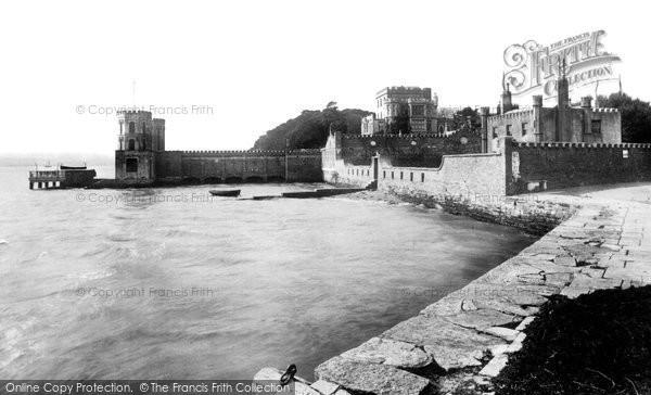 Photo of Brownsea Island, The Castle 1891