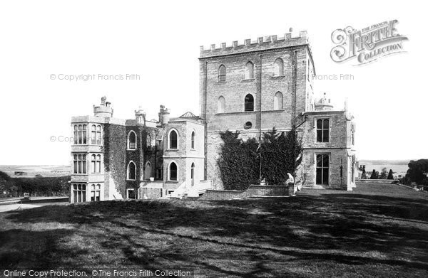 Brownsea Island, The Castle 1891