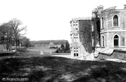 Brownsea Island, The Castle 1892