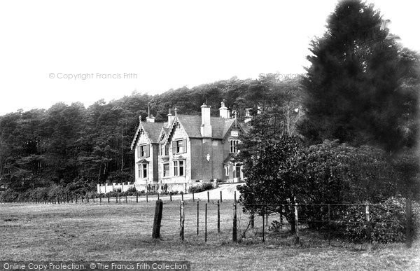 Photo of Brownsea Island, The Villa 1891