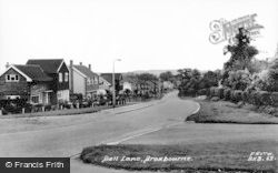Broxbourne, Bell Lane c.1960
