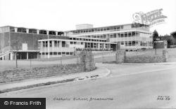 Broxbourne, Rc School c.1960