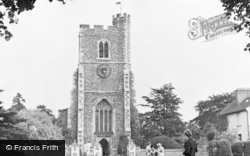 Broxbourne, St Augustine's Church c.1955