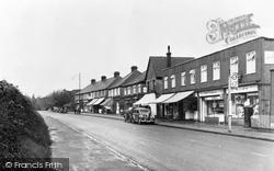 Broxbourne, St John's Parade, High Road c.1955