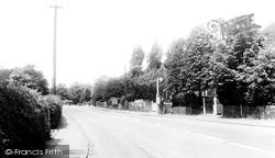 Broxbourne, Station Road c.1955