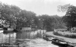 Broxbourne, The River Lea c.1960
