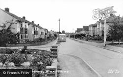 Broxbourne, Trafalgar Avenue c.1960