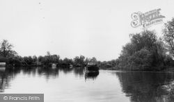 Brundall, Cruiser On River Yare c.1965