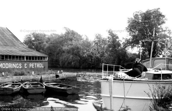 Brundall, Dyke Off River Yare c.1965