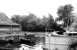 Brundall, Dyke Off River Yare c.1965