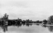 Brundall, Looking Down The River Yare c.1965