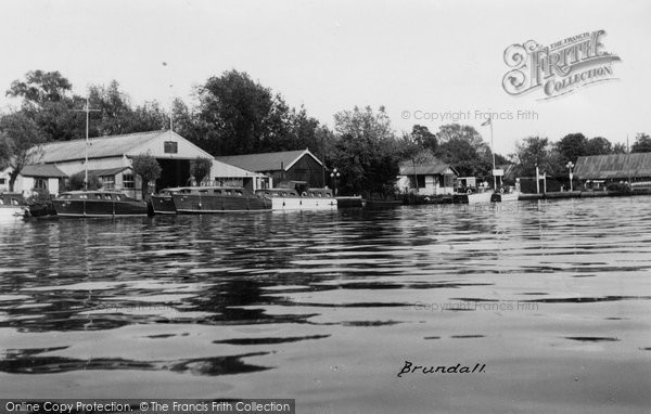 Brundall, On The Yare c.1960