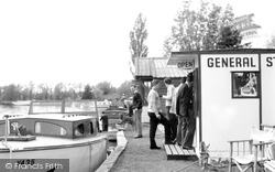 Brundall, River Stores c.1955