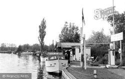 Brundall, River Yare c.1955