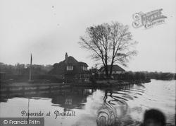 Brundall, Riverside c.1931