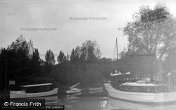 Brundall, The River c.1931