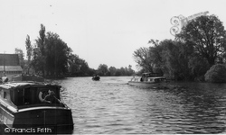 Brundall, The River Yare c.1965