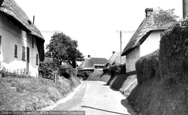 Brunton, The Village c.1955