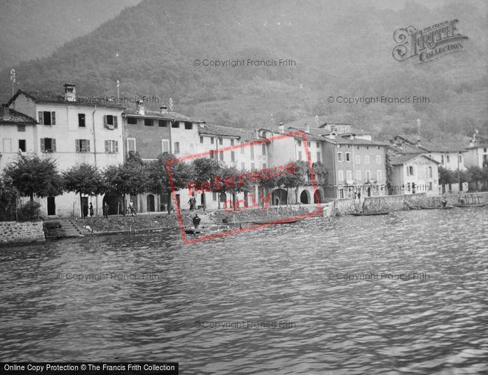 Photo of Brusino Arsizio, From Lake Lugano c.1935