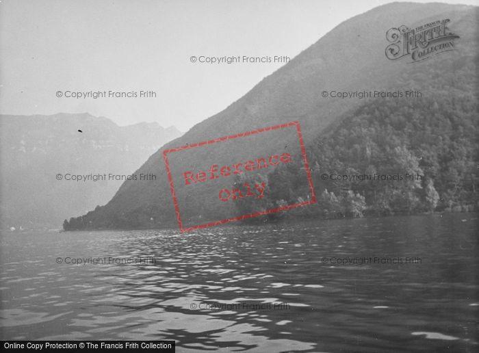 Photo of Brusino Arsizio, Lake Lugano, Monte San Giorgio And Monte Generoso c.1935