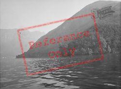 Lake Lugano, Monte San Giorgio And Monte Generoso c.1935, Brusino Arsizio