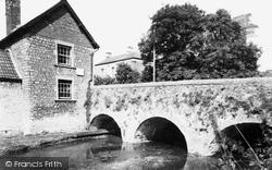 Church Bridge c.1960, Bruton