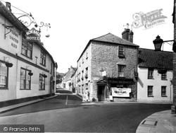 Coombe Street c.1960, Bruton
