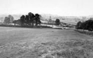Bruton, General View From Dropping Hill c.1955