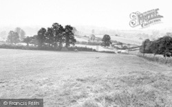 General View From Dropping Hill c.1955, Bruton