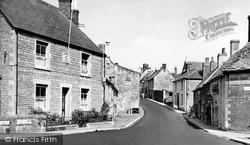 High Street c.1955, Bruton