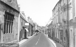 High Street c.1960, Bruton