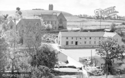 Kings School And Dovecot c.1955, Bruton