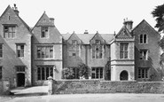 Bruton, Kings School c.1960