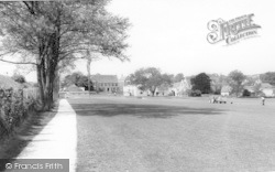 Kings School Playing Fields c.1960, Bruton